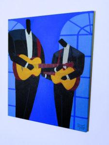 Les Guitaristes (Right View)
