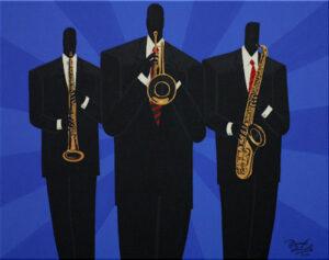 The Brass (In Blue)